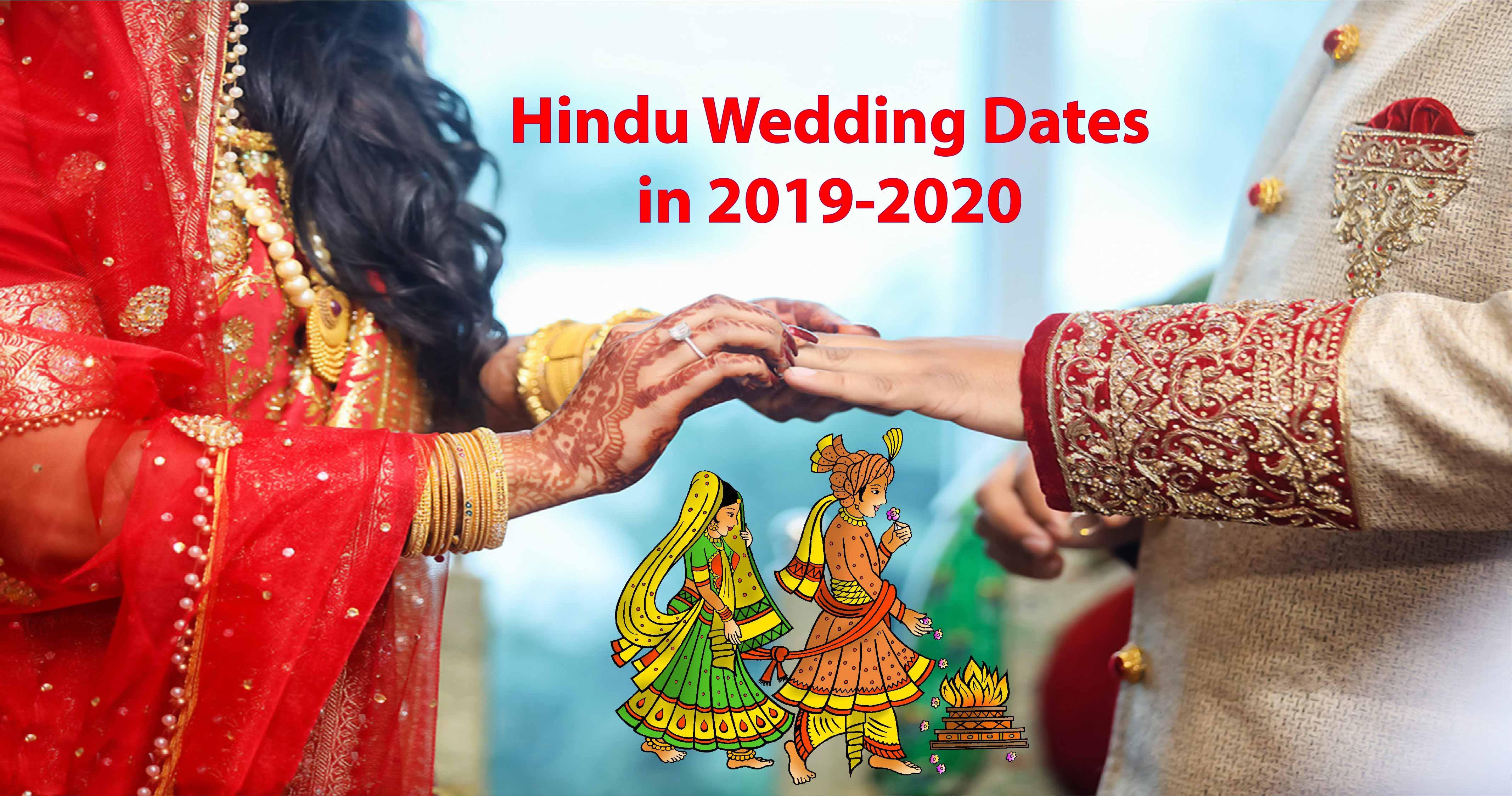 Auspicious Wedding Dates - Hindu Vivah Muhurat 2018-2019 - Ishwar